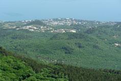 Вид на Симеиз с горы Ай-Петри