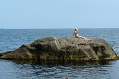 Крымская русалка в Алупке