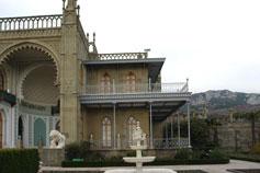 Дворец Воронцова в Алупке