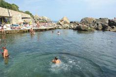 Крым, Алупка, море, детский пляж