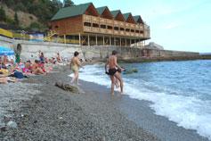 Алупка. Городской пляж
