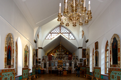 Алушта. Алтарь церкви Феодора Стратилата.