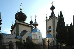 Алушта храм Феодора Стратилата.