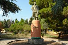 Алушта. Памятник Максиму Горькому в Рабочем уголке
