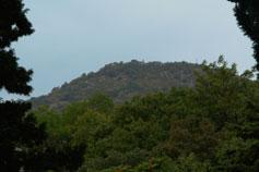 Алушта. Профессорский уголок. Вид на гору Кастель