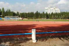 Алушта. Стадион