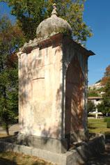 Фонтан в память о посещении русского императора Александра II Бахчисарая