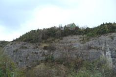 Бахчисарай дом на скале