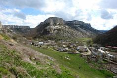 Староселье. Посёлок в горах близ Бахчисарая