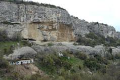 Пещерные дома, города