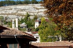 Бахчисарай. Вид из Ханского дворца