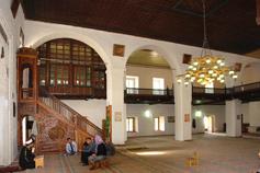 Бахчисарай. Биюк - Хан - Джами. Вагаз - проповедь  муллы или имама (духовное лицо,  которое заведует мечетью)