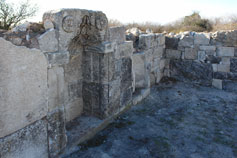 Чуфут-Кале. Руины мечети