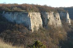 Скалы ущелья Марьям-дере