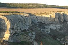 Скалы над ущельем Марьям-Дере