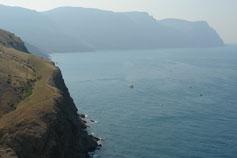 Вид с горы Аскети или Спилии