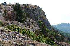 Балаклава, вершина горы Спилия
