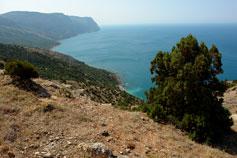 Балаклава. Вид на Золотой пляж