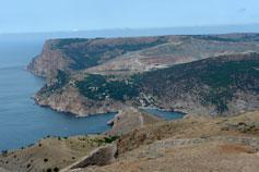 Балаклава вид на гору Кая-Баш