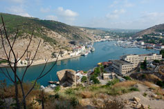 Крым. Балаклава - фото города