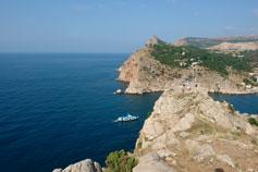 Крым. Балаклава - фото с горы Аскетис