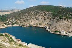 Крым. Балаклава - бухта Теней