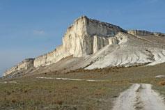 Белая Скала или Ак-Кая близ Белогорска