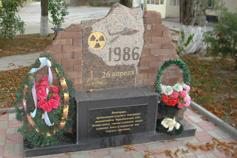 Крым. Белогорск. Памятник ликвидаторам Чернобыльской аварии