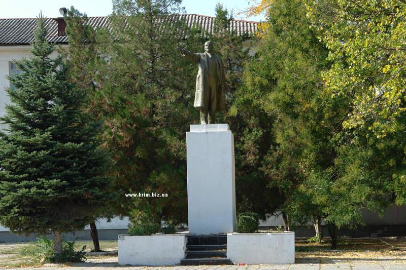 Крым. Белогорск. Памятник Ленину