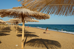 Поселок Береговое. Золотой пляж