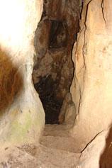 Биюк-Исар. Пещера для сбора воды крепости