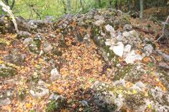 Кикенеизские останки нижней части крепости Биюк-Исар