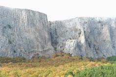 Вид на Миэссис-Сохах-Богаз - запретный перевал или Кикенеиз-Богаз