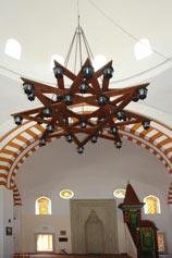 Евпатория. Люстра в мечети Хан-Джами