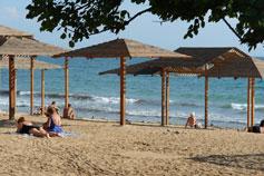 Евпатория. Пляж санатория Орлёнок