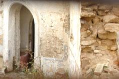 Евпатория, вход в турецкие бани 16 века