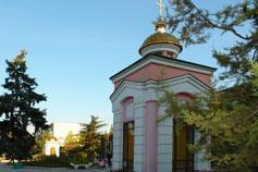 Евпатория. Парк Соколова. Часовня