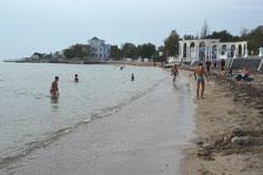 Евпатория. Пляж
