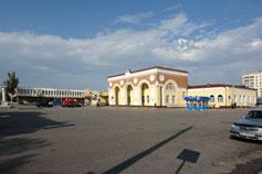 Евпатория. Железнодорожный вокзал