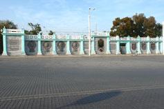 Евпатория. Памятная стена 2500 лет городу Евпатория