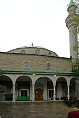 Минарет мечети Муфтий - Джами в Крыму