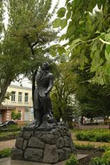 Феодосия памятник А. С. Пушкину