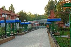 Крым отдых в парках Феодосии