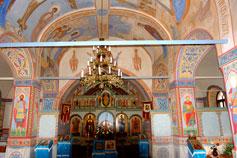 Феодосия, в Введенском храме