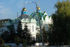 Феодосия. Церковь святой великомученицы Екатерины на площади автовокзала