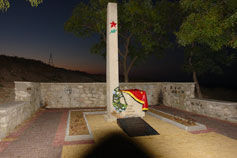 Феодосия. Братская могила воинов-десантников на горе Митридат