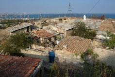 Феодосия. Жилища на горе Митридат