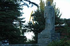 Феодосия. Памятник Ивану Андреевичу Назукину