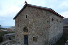 Феодосия. Древний греческий храм Дмитрия Солунского