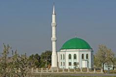 Феодосия мечеть на въезде в город